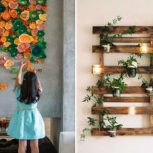 Эффектные варианты настенного декора сделают скучную квартиру свежей и привлекательной