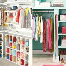 Как распланировать пространство маленькой гардеробной для идеального порядка в доме