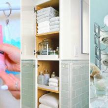 Как превратить маленькую ванную комнату в уютное и функциональное место: 11 полезных советов