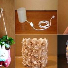 Гениальные примеры вторичного использования пластиковой тары, которые сделают жизнь ярче