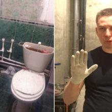 Минимум затрат и отличный результат: сын помог маме сделать бюджетный ремонт в ванной комнате