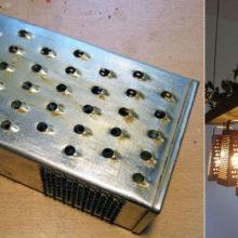 Впечатляющие варианты применения старой терки для создания особенной атмосферы в доме