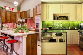 Добавляем цвета в интерьер кухни, чтобы семейные ужины стали теплыми, а настроение бодрым