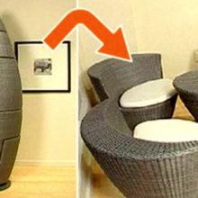 Удобная мебель-трансформер, которая создана для тех, чье жилье не радует большой площадью