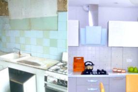 Мастер-класс по идеальному преображению старой кухни без привлечения специалистов