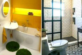 Перечень дизайнерских идей для 2 м², которые помогут превратить крохотную ванную в райское место