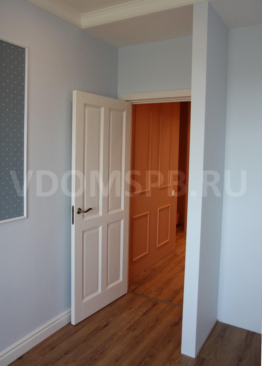 Как должны сочетаться полы и двери по цвету