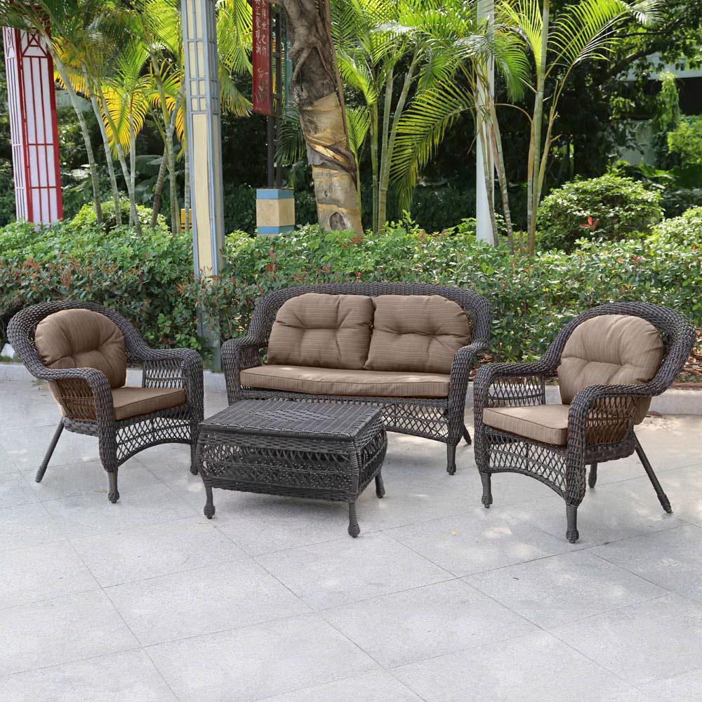 Садовая мебель, плетёная
